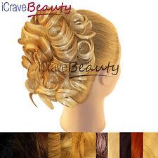 Hair Extensions Hair Piece Clip in Hair Bun Wigs Ponytail Scrunchie Drawstring
