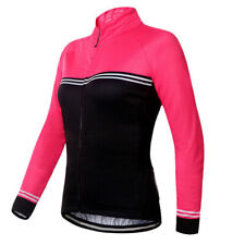 Women Cycling Jersey Jacket MTB Bike Long Sleeve Tight Shirt Sports Clothing Top