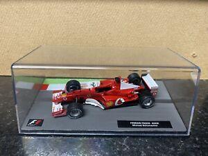 Ferrari F2002 F1 Racing Car, Michael Schumacher, Die Cast, 1.43