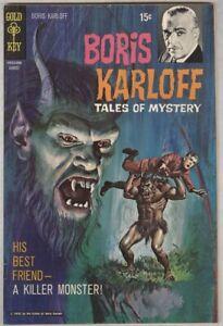 Boris Karloff Tales of Mystery #31 August 1970 F/VF