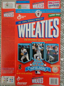 WHEATIES -1998 BASEBALL INFIELDER ALL STARS (1) BOX - CLASSIC COLLECTIBLE