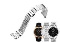 19mm Steel Stainless Steel Bracelet Wristbands For Tissot T41.1.423.33 Watch