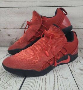 Nike Kobe AD NXT University Mens Size 10.5 Red Black Basketball Shoes