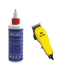 Wahl Clipper Oil 4oz and Wahl Pro Clip Clipper