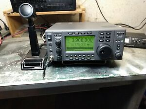 ten tec jupiter model 538 with shure 444d microphone and power cord and manual