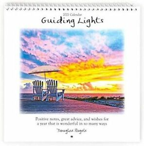 2021 Guiding Lights Positive Notes Great Advise Small Calendar by Blue Mountain