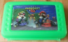 1998 Nintendo 64 N64 Mario Kart Game 3D Hologram Green Pencil Box Case