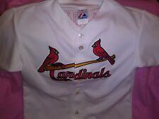 St.Louis Cardinals Baseball Mlb Jersey Majestic Albert Pujols Women's Sz Large