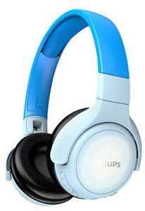 Philips Kinderkopfhörer KH402BL/00 Faltbare Wireless On Ear Kopfhörer Blau