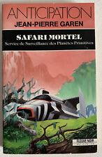 (FN951) ANTICIPATION FLEUVE NOIR  ? N° 1747 - SAFARI MORTEL