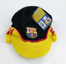 FC Barcelona Authentic Official Licensed Soccer Beanie (One Size, FCB 1) [Sport]