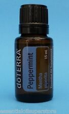 doTERRA PEPPERMINT Essential Oil 15 ML -  Factory Sealed Bottle