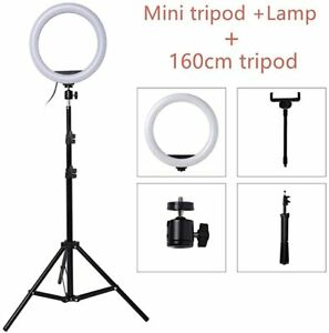 26cm/10inch LED Selfie Ring Light Dimmable LED Ring Lamp Photo Video Camera