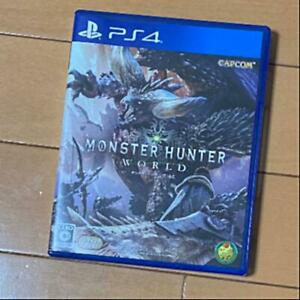 PS4 Monster Hunter World from Japan 4976219091275 Japanese ver from Japan