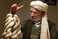 Original Afghan Hochzeit Turban Afghanistan Männer kopfbedeckung Lungee weiss