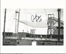 Atlantic City NJ New Jersey Diving Horse Steel Pier 1941 Signed by Rider Photo