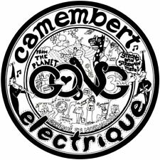 """GONG CAMEMBERT ELECTRIQUE PSYCH DECAL VINYL STICKER 100MM 4"""" BUY 2 GET 1 FREE"""