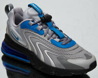 Nike Air Max 270 React ENG Men's Light Smoke Grey Battle Blue Lifestyle Sneakers