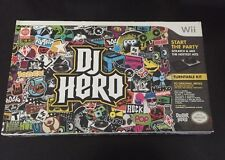 DJ Hero: Bundle with Turntable Nintendo Wii Activision NEW