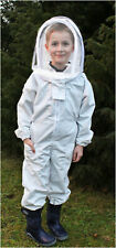 Child Beekeeping , All in one suit, Protective clothing, Fencing hat style