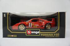 Bburago Ferrari F40 Evoluzione 1992 1:18 Modellauto OVP
