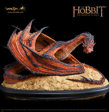 Weta SMAUG THE TERRIBLE Statue Lord of the Rings LotR Hobbit Dragon SEALED VHTF