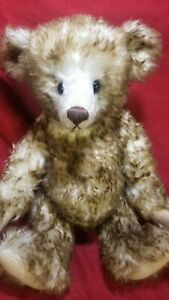 "Margie Michalski ""Joey"" OOAK artist teddy bear tipped mohair 16"" Sweetie Bears"