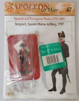 Del Prado - Napoleon at War - Issue 47 - Sergeant, Spanish Marine Artillery 1797