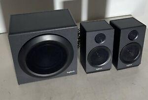 Logitech Z333 2.1 PC-Lautsprecher Kabelgebunden 40W Schwarz