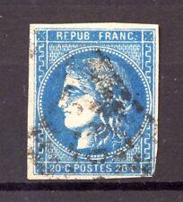 FRANCE 46Ba bleu foncé. Perle au dessus de la . TRES BEAU, Cote: 50€+   -C87-