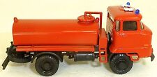 Ifa L60 Camion-Citerne Pompier Kleinserie Résine H0 1:87 Å