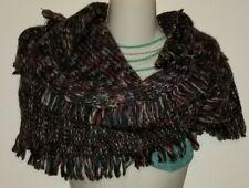 LUCKY BRAND  Fashion winter Scarf wrap blue burgundry gray New stylish Womens