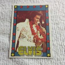 1978 Monty Gum - ELVIS PRESLEY - Club Card From Holland - (Blank Back) - Card 43