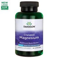 Swanson Ultra Albion Chelated Magnesium Glycinate 133mg, 90 Capsules