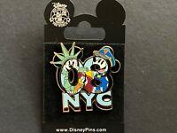 WOD NYC New York City 2008 Mickey, Minnie, & Donald RARE HTF Disney Pin 59890