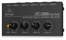 Behringer Mx400 Micro Mix Mixer