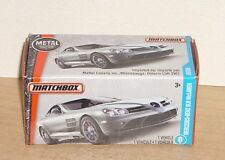 2016 Matchbox MERCEDES-BENZ SLR McLAREN #29 Boxed Power Grab Car MOC HW Toy