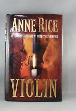 Violin by Anne Rice - Pre Owned Hardcover