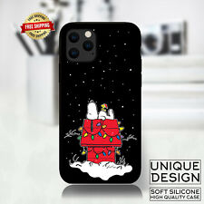 Peanuts snoopy christmas Phone Case Samsung Galaxy S10 Huawei iPhone 11 Gift
