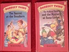 THE BOBBSEY TWINS BOOK SET: SECRET AT THE SEASHORE & THE MYSTERY AT SNOW LODGE