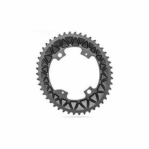 Absolute Black Chainring Road Oval Sub-Compact 110/4