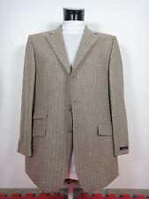 Z00027 DANIEL HECHTER Designer Trend Anzug - Gr. 52 / 54 - grau braun- Neu