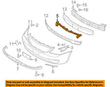 KIA OEM 2014 Sedona Front Bumper Grille Grill-Upper Support 865514D550