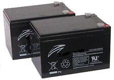 Pair of 12V 12AH Batteries for Elite GOGO & Traveler Mobility Scooter