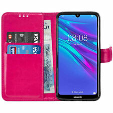 For Huawei Y6 2019 Premium Leather Wallet Flip Book Case Cover Pouch with Pocket