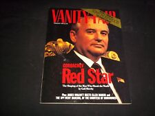 1990 FEBRUARY VANITY FAIR FASHION MAGAZINE - MIKHAIL GORBACHEV COVER - J 1134