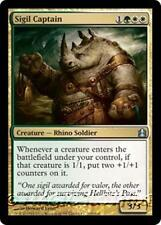 SIGIL CAPTAIN Commander 2011 MTG Gold Creature — Rhino Soldier Unc