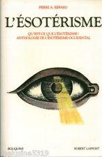 Livre ésotérisme  l'ésotérisme - Pierre A. Riffard book