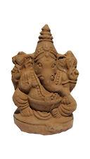 """3.5"""" Eco-Friendly Ganesh Idol Villianur Clay Best for Ganesh Chaturthi Immersion"""