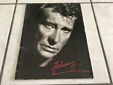 PROGRAMME DE JOHNNY HALLYDAY - GANG - 1988